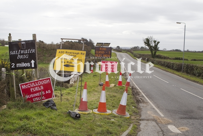 B15-21-2-19 Road closed Brig