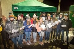 B3-27-12-18 Comber farmers market choir