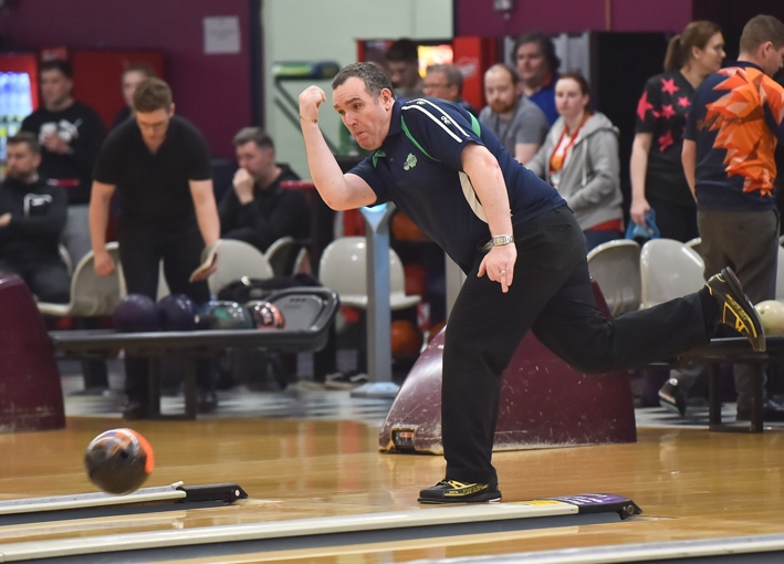 Northern Ireland Open - Ten Pin Bowling Competition - Dundonald Ice Bowl Pictured is William Nimick, Belfast. SG59-30-05-19