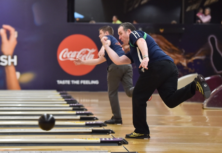Northern Ireland Open - Ten Pin Bowling Competition - Dundonald Ice Bowl Pictured is William Nimick, Belfast. SG60-30-05-19
