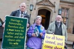 B17-4-10-18 B'gor Town Hall protest