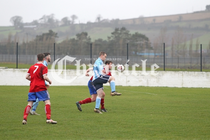 B13-7-3-19 Ards Rangers Gary Brown