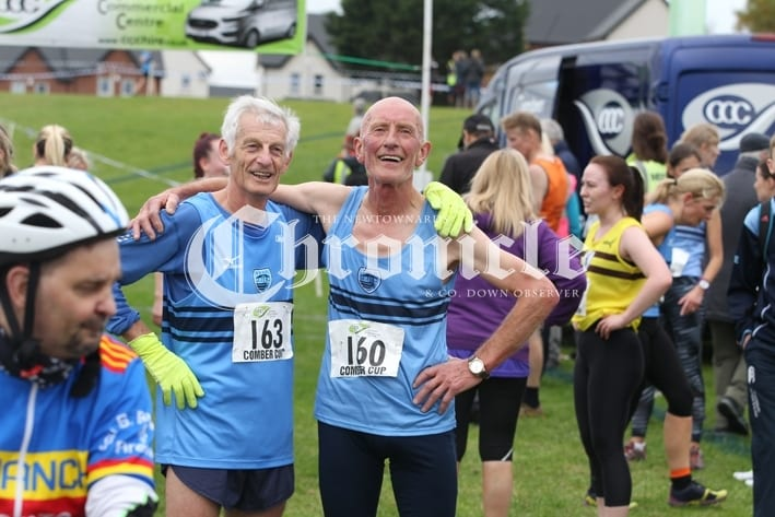 B24 -25-10-18 Comber Cup Francis and Fred